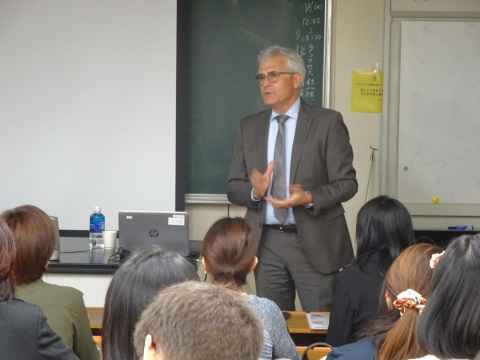 Lecture by Mr. López-Remón