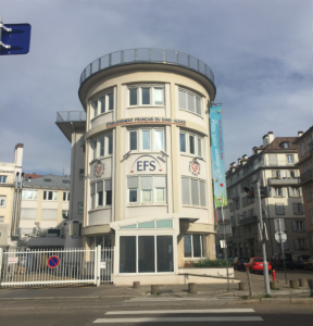 Etablissement Français du Sangの建物