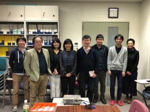 All members of DNA data analysis laboratory